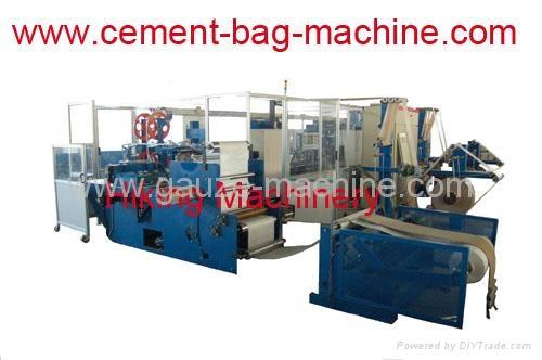 PP plastic cement va  e bag machine 1