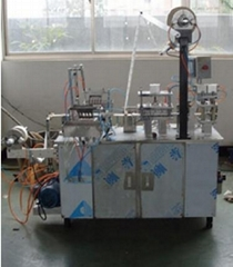 Blood collecting needle packaging machine