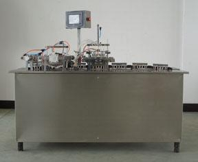 Blood collecting needle packaging machine 2