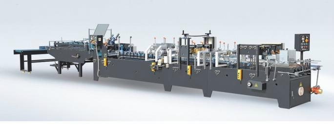 GD650 High-speed Automatic Folder Gluer For Lock-bottom Paper Box 1