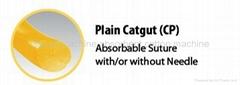 Absorbable suture-plain catgut