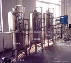 water treatment machine-water purifying system