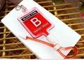 Blood bag machine