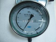 0.25级60MPA充油耐震精密压力表