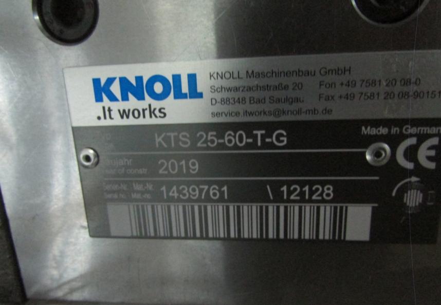 KNOLL离心泵TG20-70/02350 1