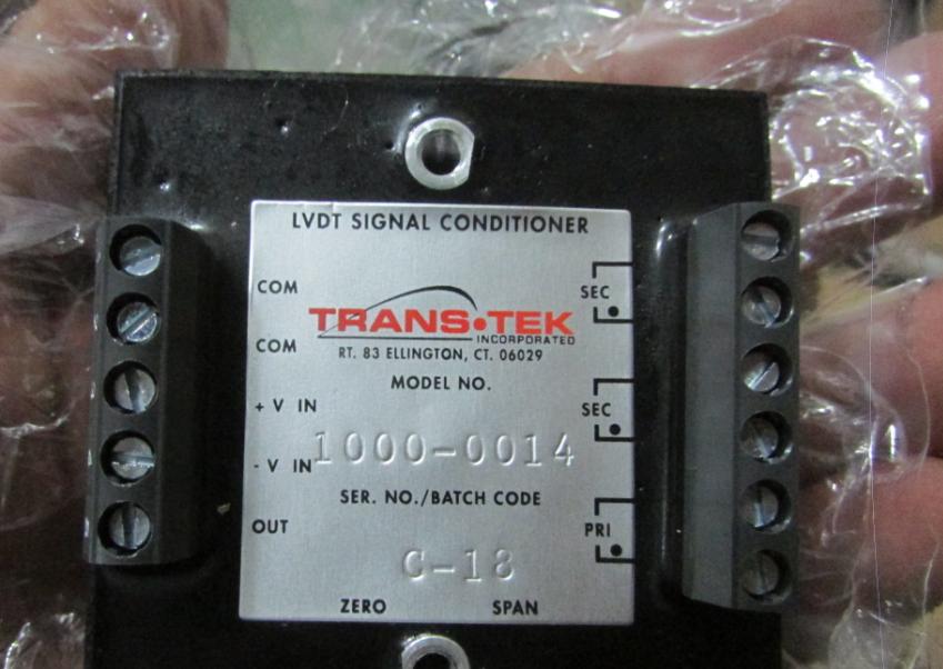 TRANS-TEK线性传感器 1
