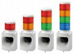 MP3 hybrid LED tower warning light