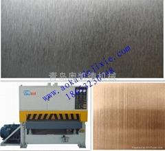 砂光机 铝板去毛刺机 研磨机 钛板去毛刺  防火板去毛刺