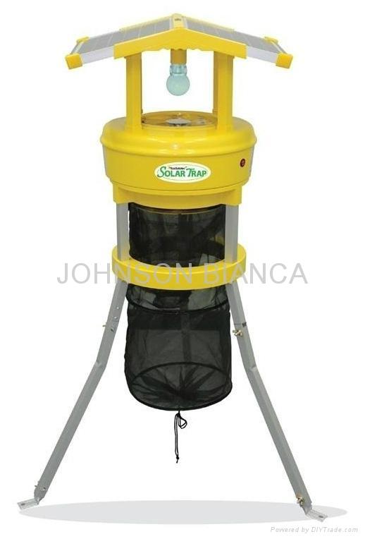 太陽能戶外捕蚊蟲機 1