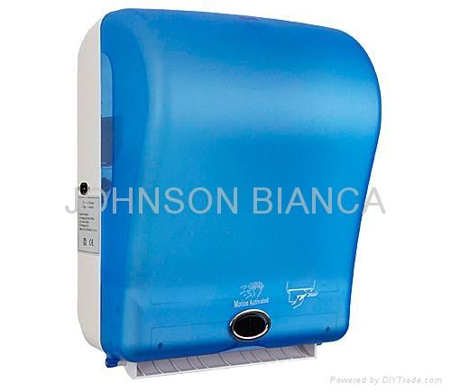 Automatic Kong Dispenser ~ Automatic hand roll towel dispenser ptd rt bianca
