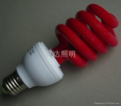 Color energy saving lamp
