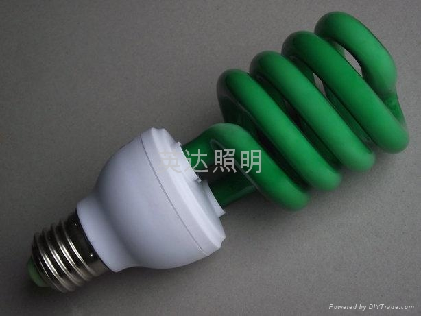 英達照明 彩色節能燈 3