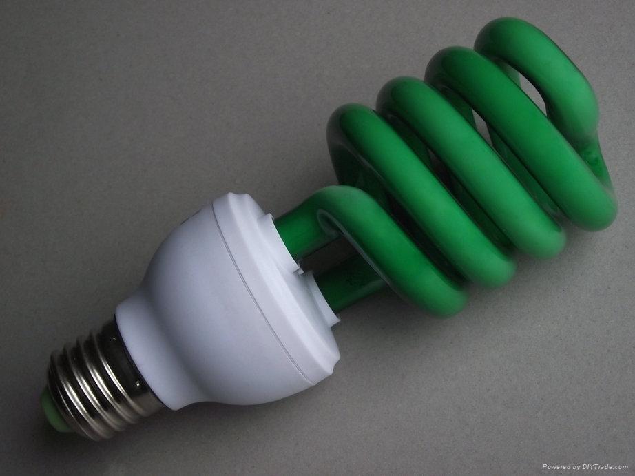 英達照明 彩色節能燈 5