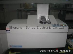 Granularity testing apparatus