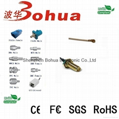 RP-SMA female straight bulklhead to U.FL/IPEX with 50-1000mm length RG178 cable