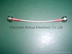 F male straight to F male straight with 150mm length RG179B/U cable