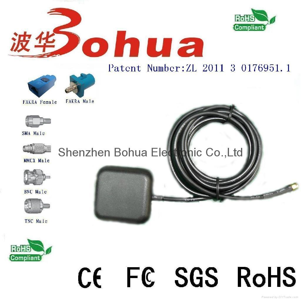 IRIDIUM-BH02(Low Profile Iridium active antenna )
