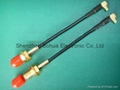 SMA female to MMCX male Right angle with RG174 cable