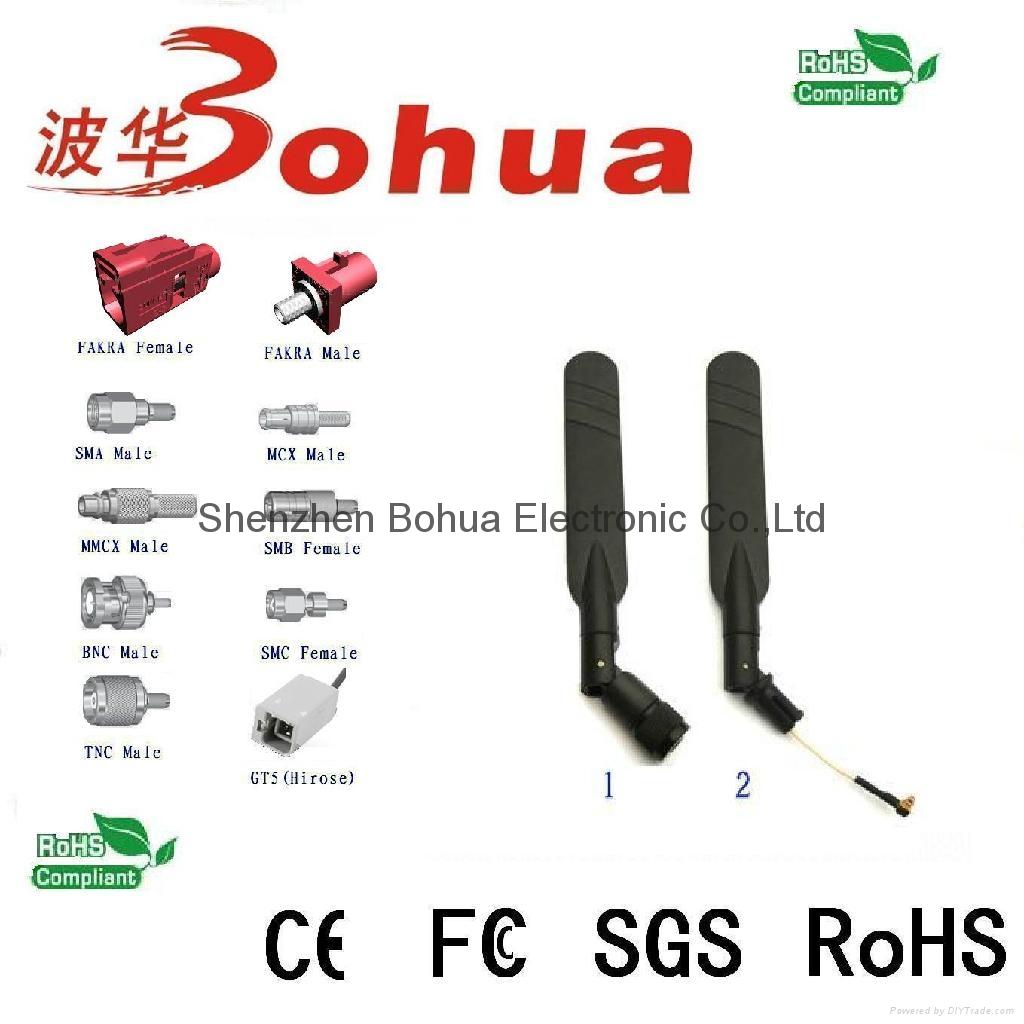 5.8G-BHW06---6dBi Indoor 5.8GHZ Rubber antenna 1