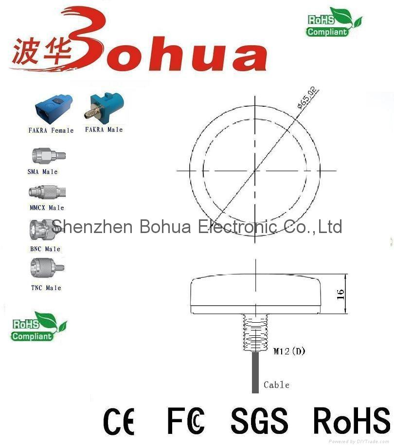 GAA-GPS/GN-GSM-A1 (GPS/GLONASS/GSM Combination Antenna) 2