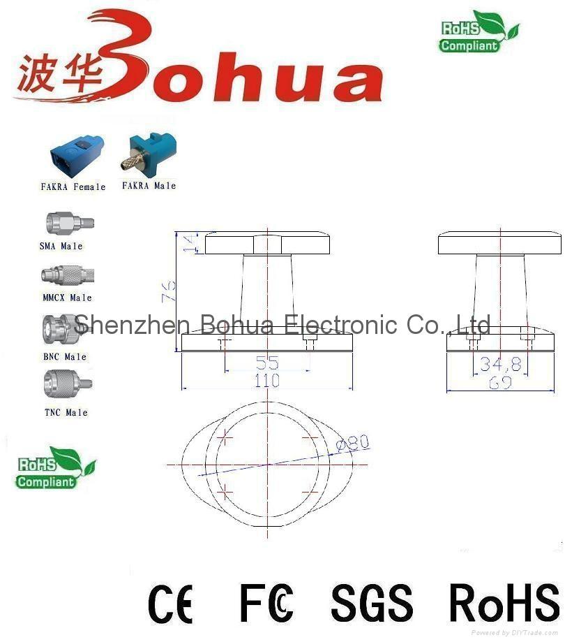 GAA-GPS/GN-GSM-G(GPS/GLONASS+GSM combination antenna) 3