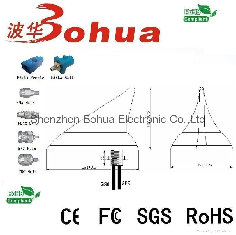 GAA-GPS/GN-GSM-C(Shark fin GPS/GLONASS+GSM combination antenna) 2