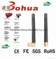 WIFI-BH008(2.50dBi Indoor 2.4GHZ dipole AP rubber Antenna)