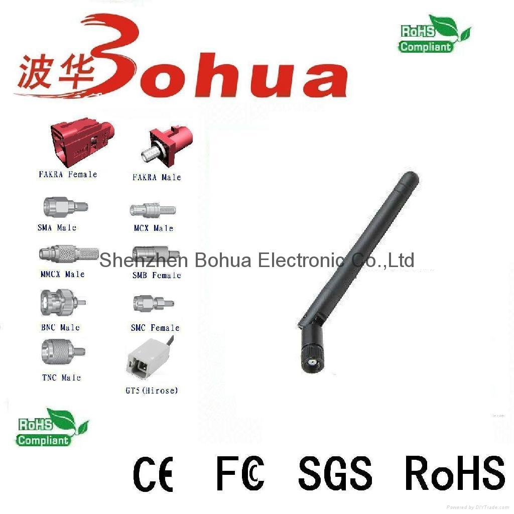 BH-433-034 (433MHz Swivel rubber antenna) 1
