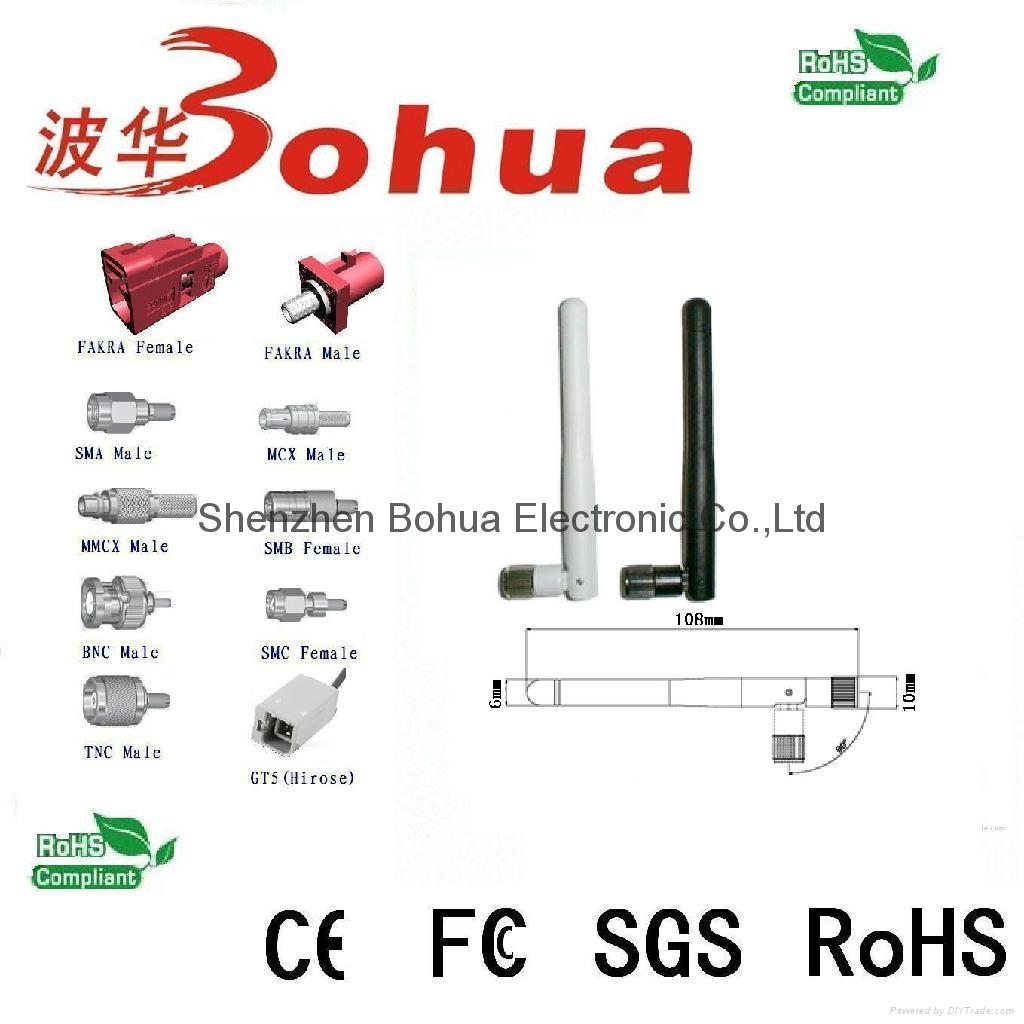 BH-433-034 (433MHz Swivel rubber antenna) 2