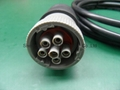 Deutsch 6pin femle to Deutsch 6pin male with 500mm length cable