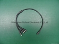 DC female(4 ways) to DC male with 500mm length cable 1