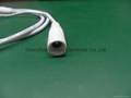 DC female(2 ways) to DC male with 500mm length cable 3