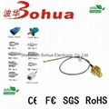 SMA female bulkhead to U.FL/GSC(IPEX) with RG178 cable