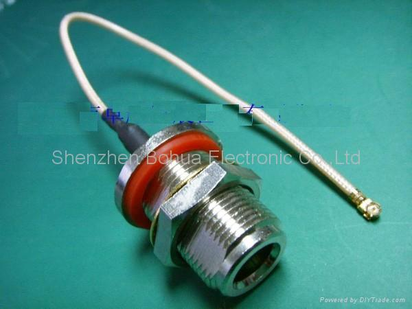 N female to U.FL/GSC with 1.13mm(D) cable 1