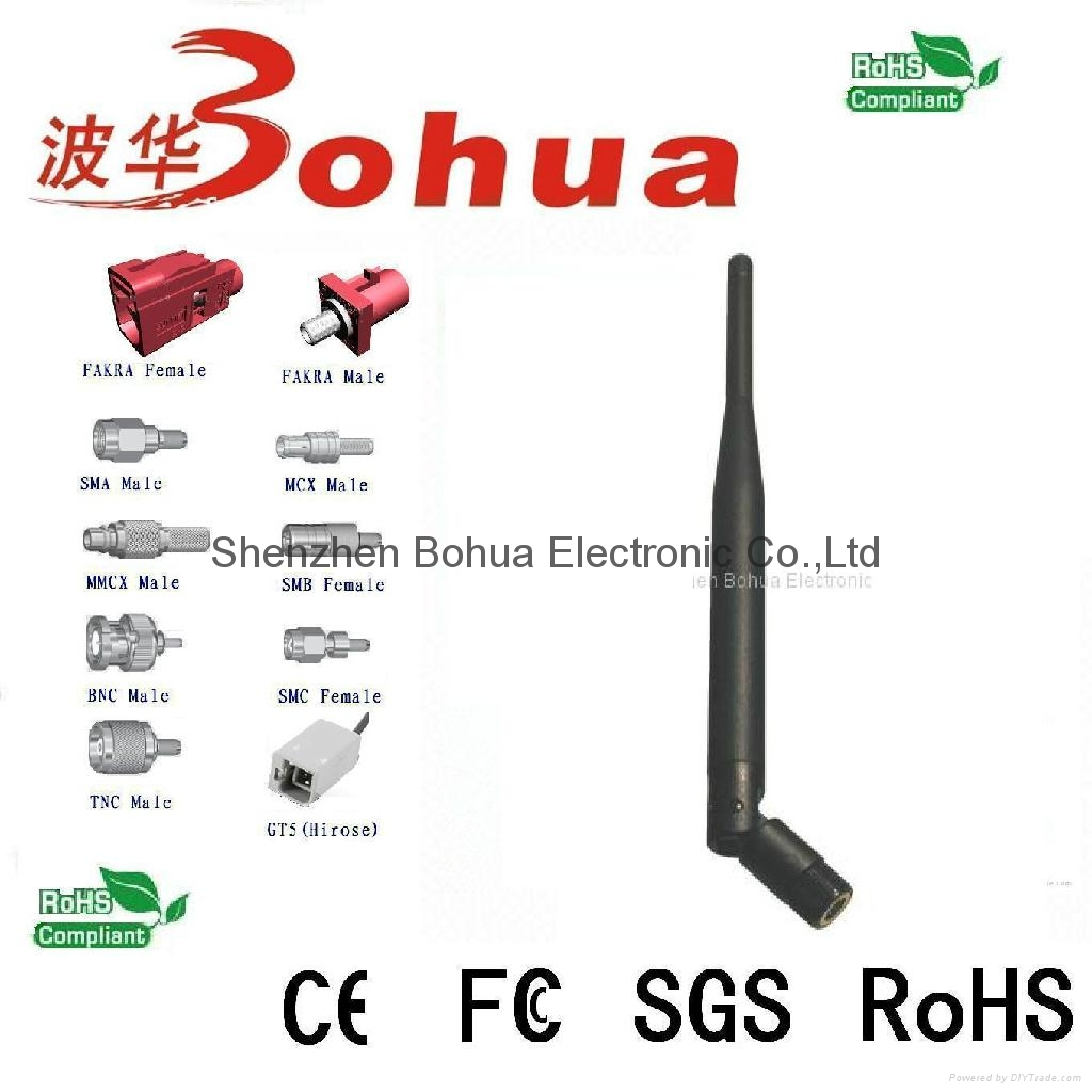 WIFI-BH047--5dBi 2.4GHz/5.8GHZ dual band Equipment antenna 1