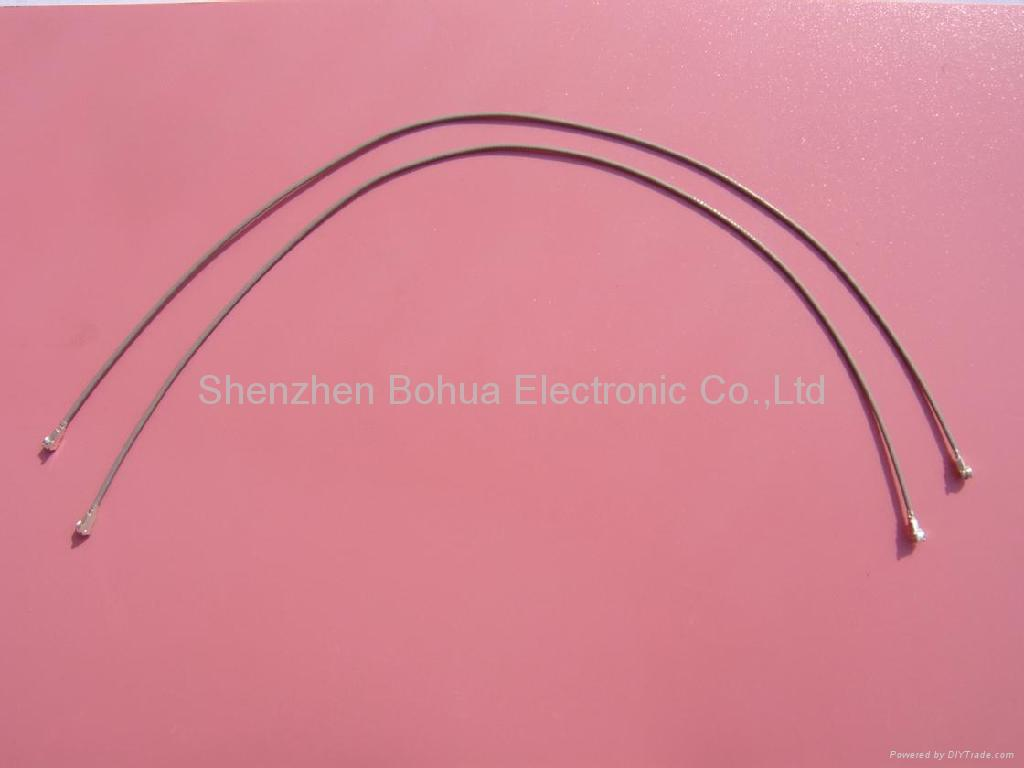 H.FL to H.FL with gray 1.37mm(D) cable - Bohua (China Manufacturer ...