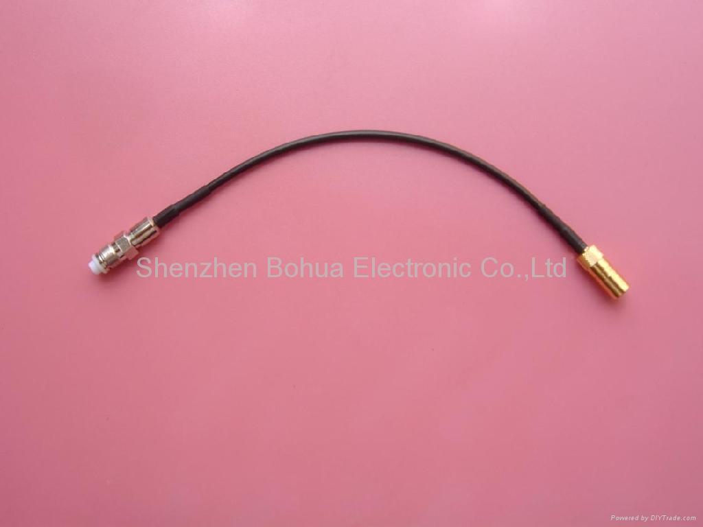Strip rg174 to smb plug