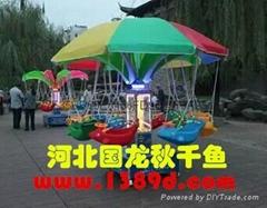 中国电动小飞鱼  旋转飞机