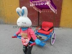 儿童機器人拉車