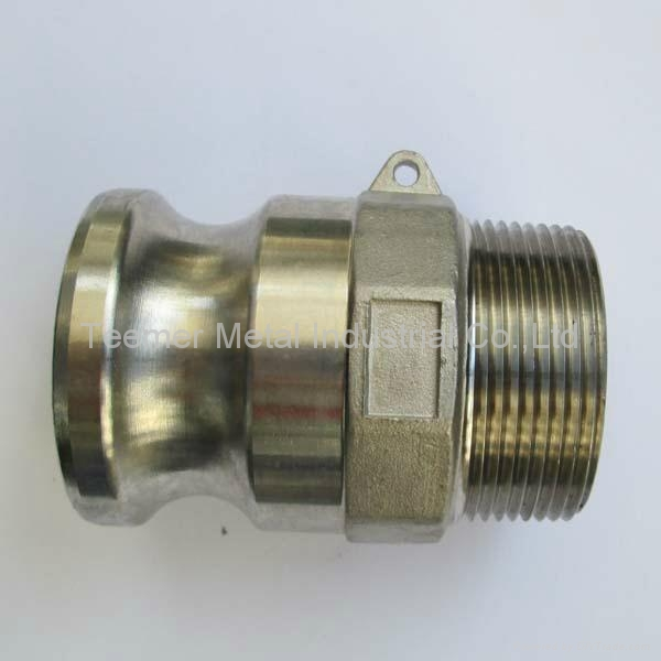 Stainless steel cam lock coupling part a teemer china