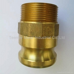 2014 Brass camlock coupling part F