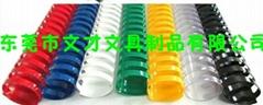 38mm Big sale office plastic ring binder folder for paper