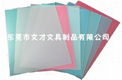 0.2mm A4 PVC film  binding cover clear glossy binding for books