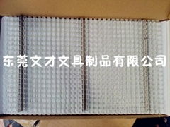 """5/16""""環保尼包膠白盒/文儀盒裝YO 雙線圈"""