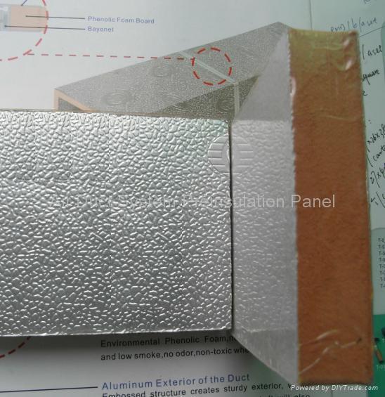 Phenolic Foam Insulation : Phenolic foam panel china manufacturer heat insulation