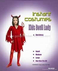 sexy hot Kids Devil Lady