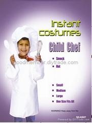 Child chef  kit child party costume