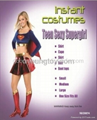 Halloween girl  Teen Sexy Supergirl costume