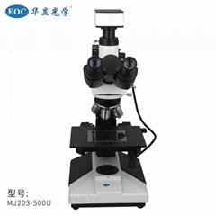 EOC華顯光學金相顯微鏡拍照測量工業電子顯微鏡