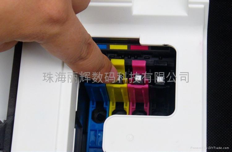 EPSON T1331-T1334填充墨盒 獨立式復位按鍵 4